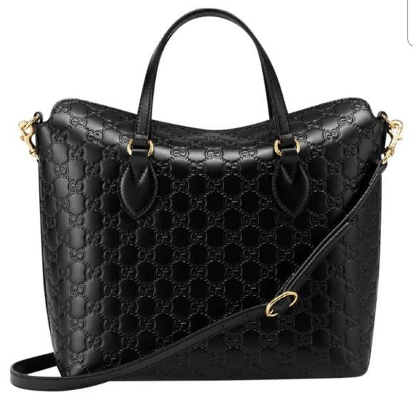 c1bebffa61b124 Gucci Bags | Ssima Magnetic Closure Tote W Detachable Str | Poshmark